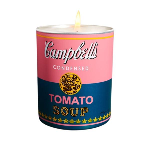 "Andy Warhol Duftkerze ""Campbell"" Pink / Green - Gazpacho"