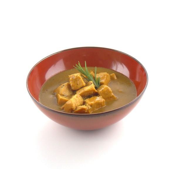 Pikantes Curry vom Landhendl