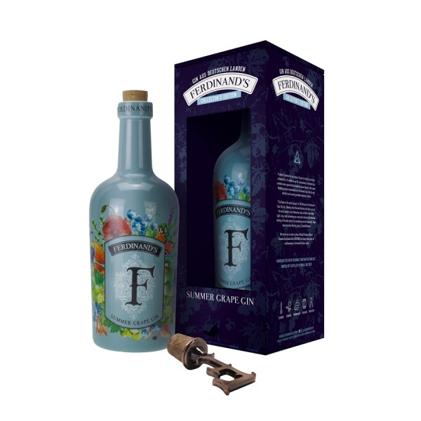 "Ferdinand´s Summer Grape Gin - 44% Alk. ""6 Years Anniversary Collector´s Edition"""