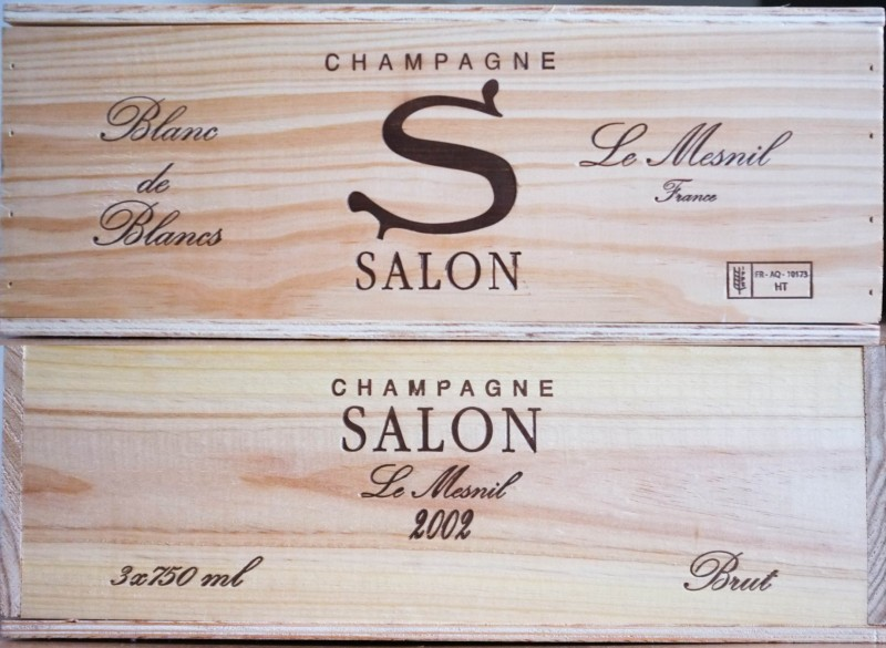Champagne Salon | KATE & KON - Fine Wine and Fancy Food